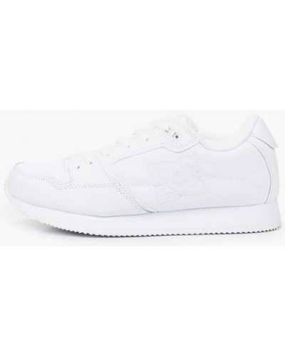 Текстильные белые пинетки Dc Shoes