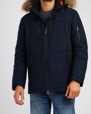 Зимняя куртка осенняя синяя Finn Flare
