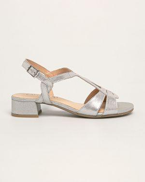 Sandały skórzany piasek Caprice