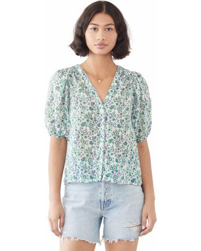 Текстильная рубашка с декольте Xírena