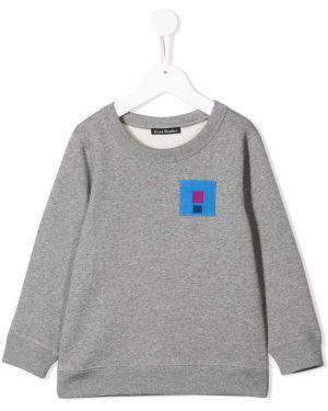 Bluza z długimi rękawami bawełniana Acne Studios Kids