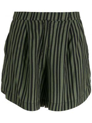 Зеленые шорты свободного кроя Osklen