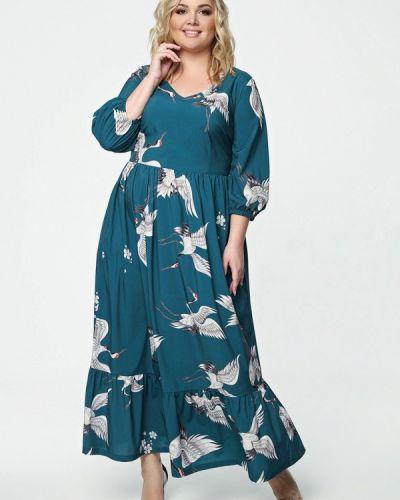 Платье макси - бирюзовое Matilda