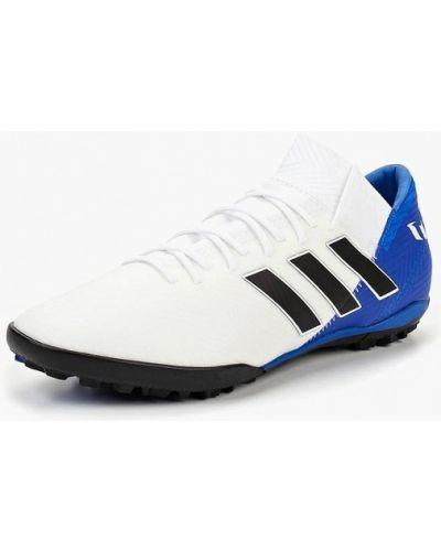 Белые бутсы Adidas