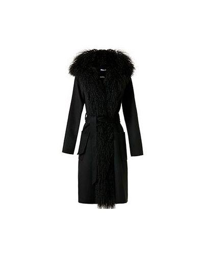 Пальто с капюшоном на кнопках с поясом P.a.r.o.s.h.