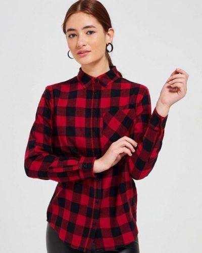 Красная рубашка с длинными рукавами Terranova