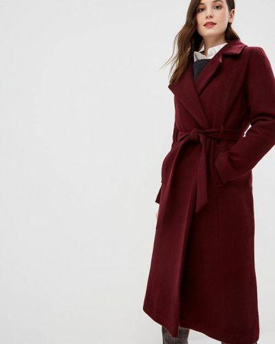 Пальто бордовый пальто Glam Goddess