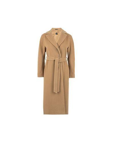 Коричневое пальто Cinzia Rocca