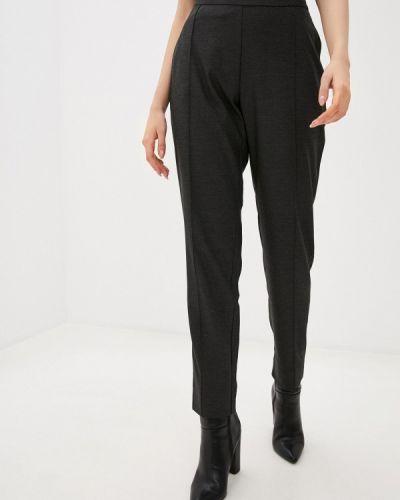 Серые зауженные брюки Stefanel