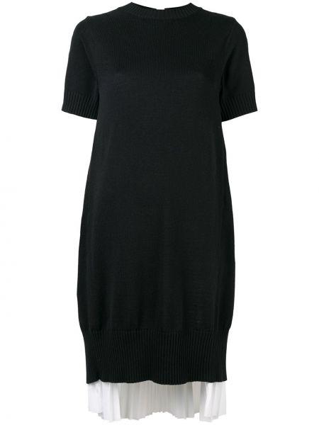 Платье в рубчик Sacai