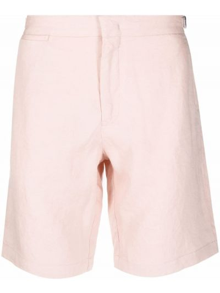 Хлопковые шорты - розовые Orlebar Brown