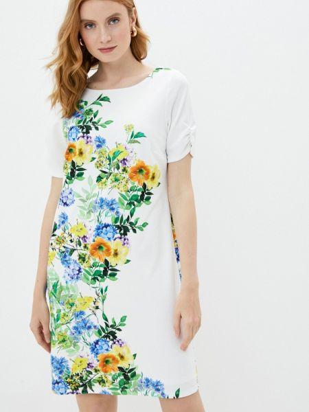 Белое повседневное платье Wallis