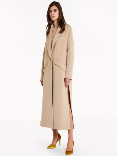 Пальто на пуговицах - бежевое Patrizia Pepe