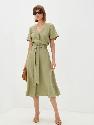 Прямое платье - хаки Gloss