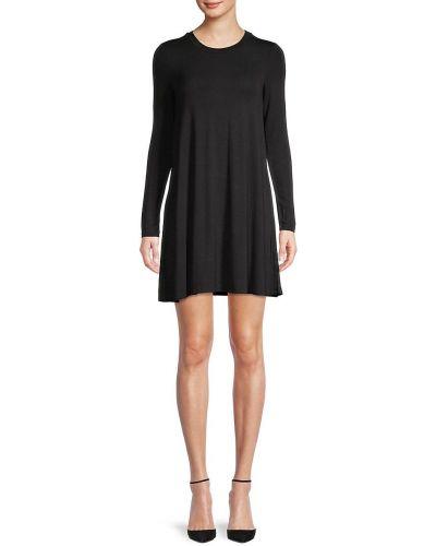 Платье макси с длинными рукавами - черное Bcbgeneration