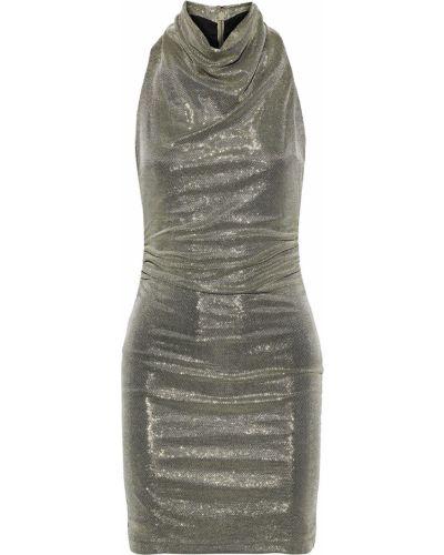 Платье с драпировкой Halston Heritage