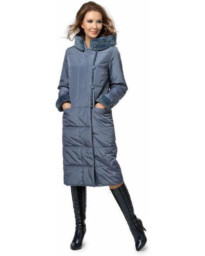 Прямое длинное пальто на пуговицах из искусственного меха Dizzyway
