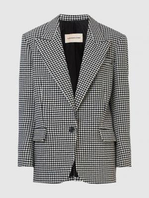 Серый кашемировый пиджак Alexandre Vauthier