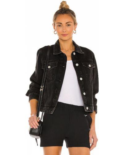Ватная черная куртка с карманами Rag & Bone