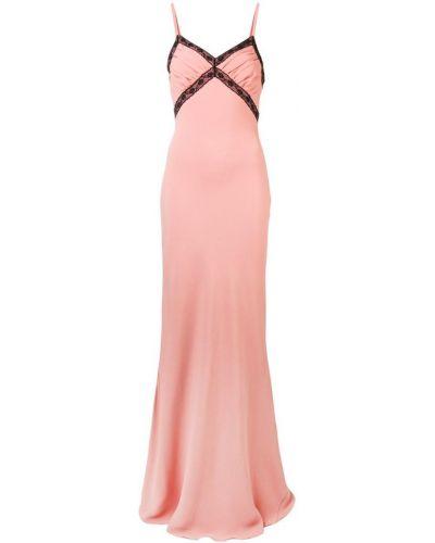 Платье хлопковое с V-образным вырезом Moschino
