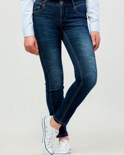 Зауженные джинсы - синие Campione