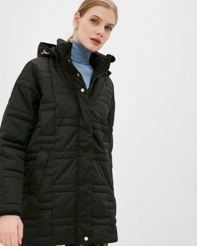 Черная утепленная куртка Torstai