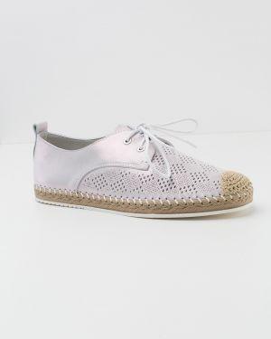 Кожаные кроссовки - розовые Oeego