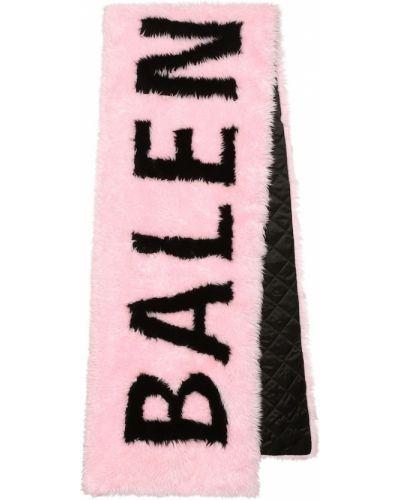 Шарф розовый Balenciaga