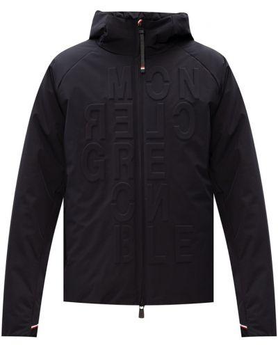 Czarna kurtka pikowana oversize Moncler