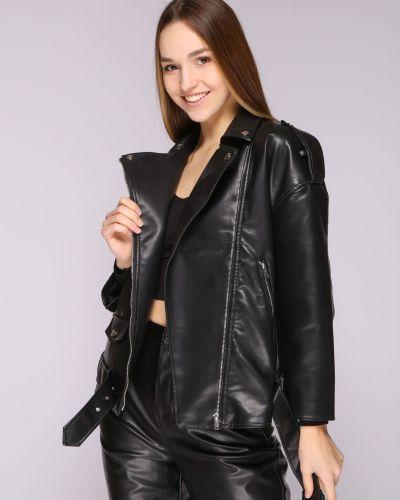 Кожаная куртка - черная Aftf Basic