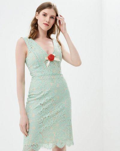 Бирюзовое вечернее платье Phard