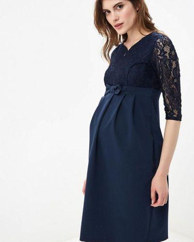 Вечернее платье - синее 9месяцев 9дней