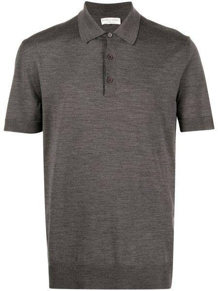 Koszula krótkie z krótkim rękawem klasyczna z kołnierzem Bottega Veneta