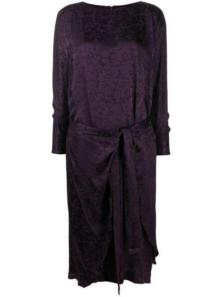 Платье макси винтажная шелковое A.n.g.e.l.o. Vintage Cult