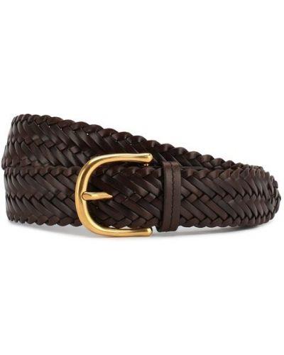 Ремень коричневый кожаный Tom Ford