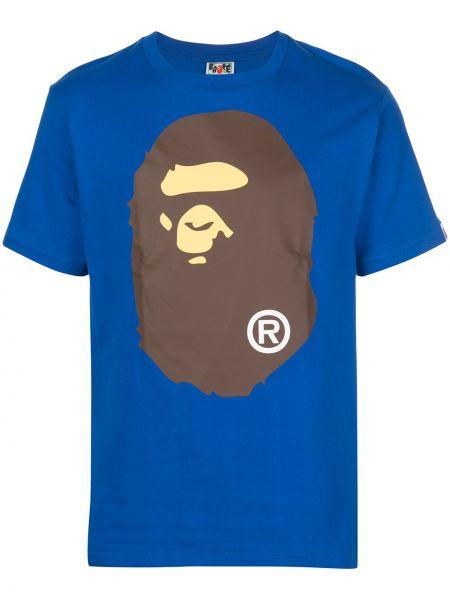Koszula krótkie z krótkim rękawem z nadrukiem z logo Bape