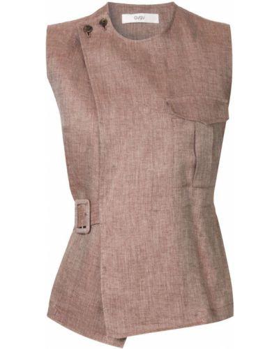 Блузка без рукавов - коричневая G.v.g.v.