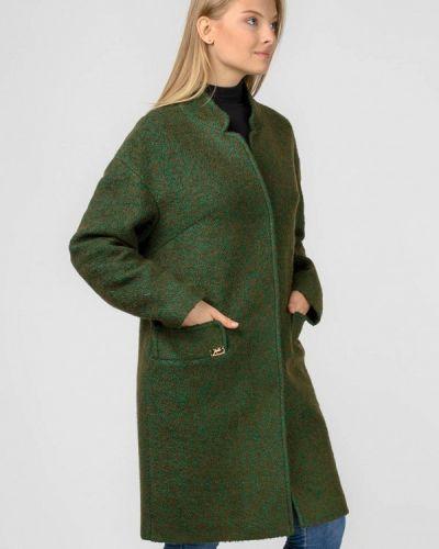 Пальто хаки с капюшоном Raslov