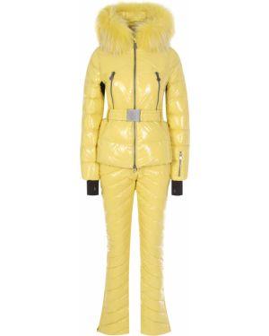 Горнолыжный комбинезон - желтый Naumi