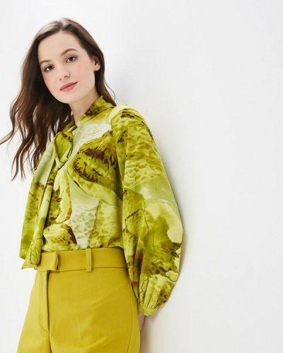 Блузка с длинным рукавом зеленый Elena Kulikova