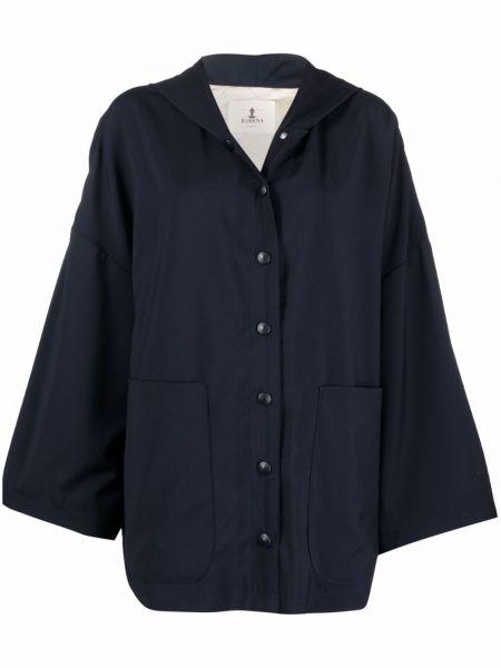 Niebieska kurtka wełniana Barena