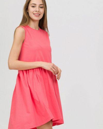Платье коралловый прямое Raimaxx