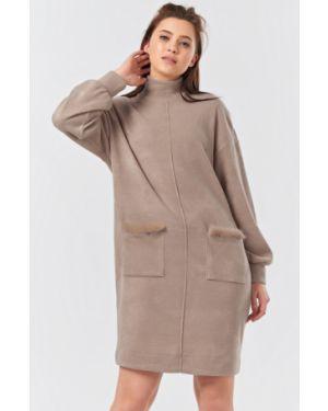 Платье миди с поясом платье-сарафан Fly