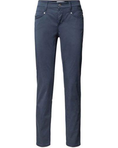 Niebieskie spodnie materiałowe Cambio