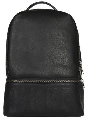 Рюкзак черный на молнии Bikkembergs