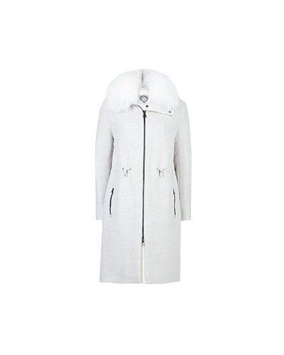 Серое пальто Diego M