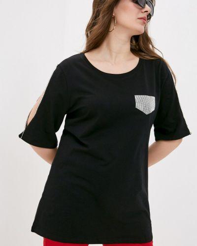 Черная футболка Sophia