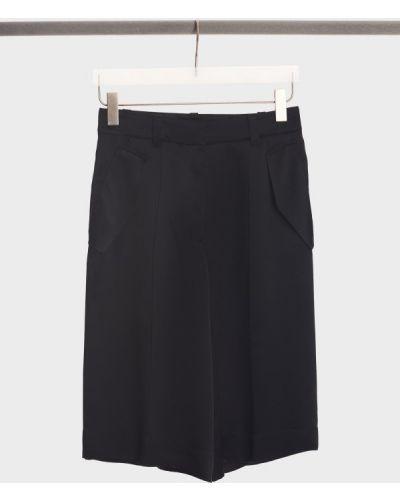Шелковые шорты - черные Barbara Bui