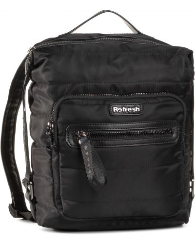 Czarny plecak Refresh