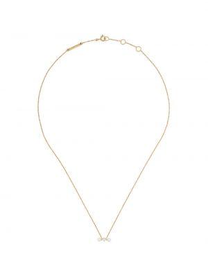 Biały złoty naszyjnik perły Delfina Delettrez
